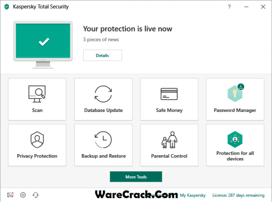 Kaspersky Total Security 2019 Activation Code