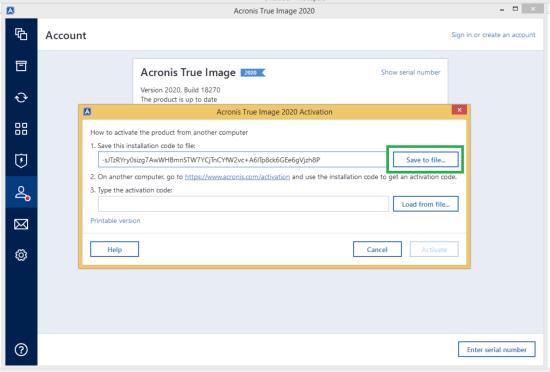 Acronis True Image 2020 Serial Number