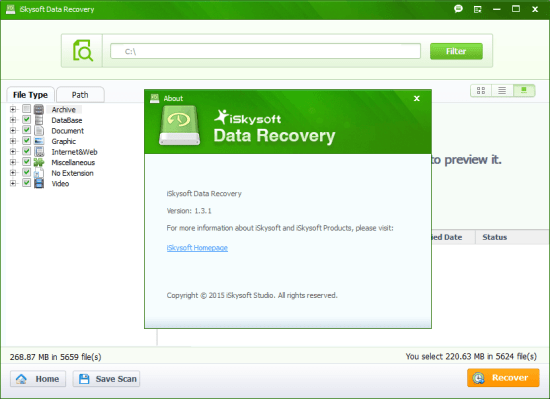 iSkysoft Data Recovery Registration Code