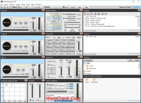 SAM Broadcaster Pro Activation Key