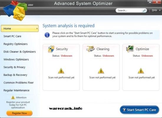Advanced System Optimizer Serial Key