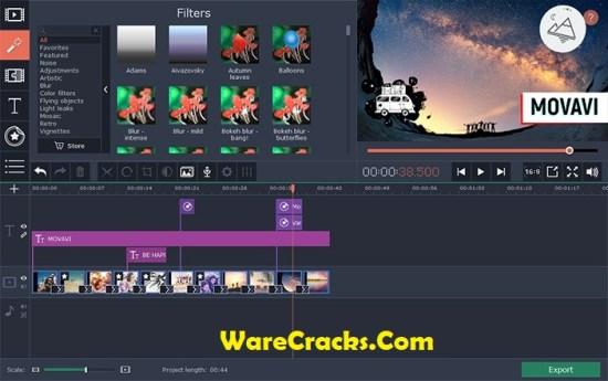 Movavi Video Suite 18 Serial Key