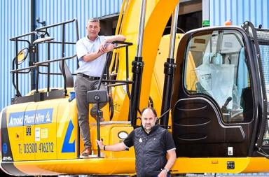 Rental fleet continues to grow with JCB order