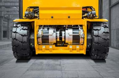 Hyundai modifies three and four-wheel E-forklifts