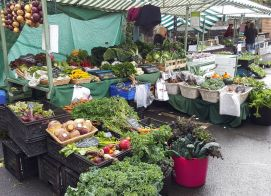 Setup at the Market