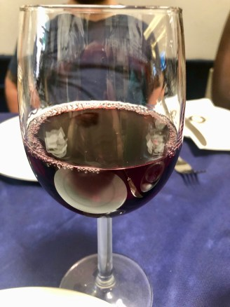 Red Maltese wine.
