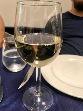 White Maltese wine.