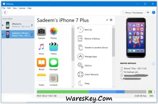 iMazing 2.13.8 Crack With License key Free Download