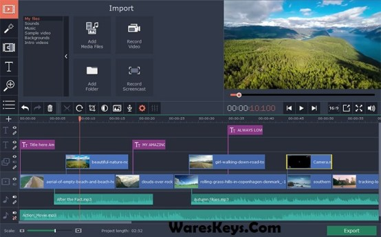 Movavi Video Editor 15 Activation Key