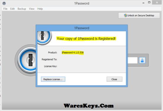 1Password Windows Crack