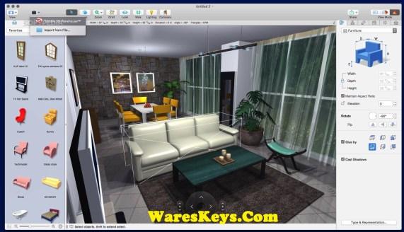 Live Home 3D Pro 3.7.2 Crack