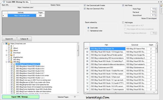 Visual SEO Studio License key