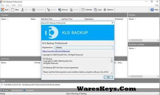KLS Backup Pro Serial key