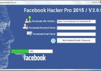Facebook Hacker Pro 2015 Activation key plus Keygen Full Free