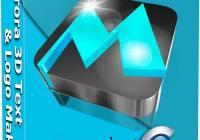 Aurora 3D Text & Logo Maker Serial Key 16.01.07 Crack Download