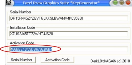 Corel Draw X3 Serial Number