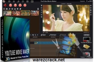 YouTube Movie Maker 16.02 Crack