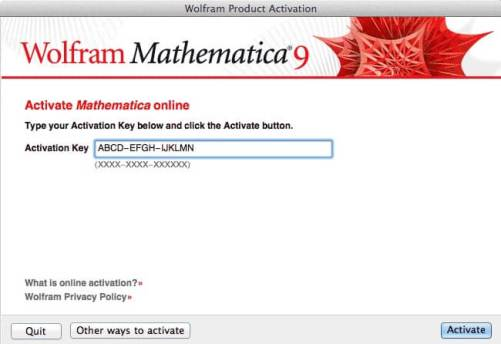 Wolfram Mathematica Activation Key