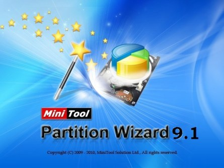 MiniTool Partition Wizard Professional 9.1 Crack