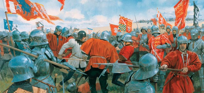11th April 1471  The Wars of the Roses. King Edward IV of England seizes London