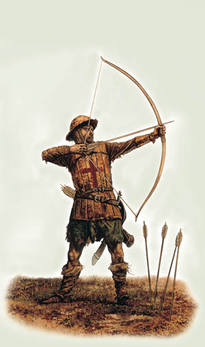 Medieval Weapons The English Longbow