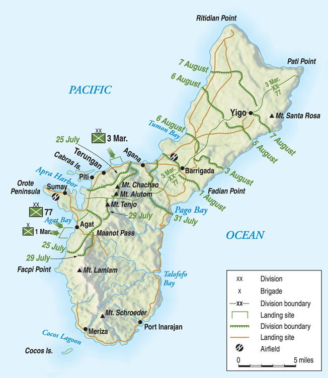 Liberating Guam - Warfare History Network
