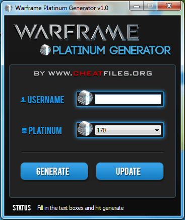Warframe Platinum Hack Warframe Platinum Hack