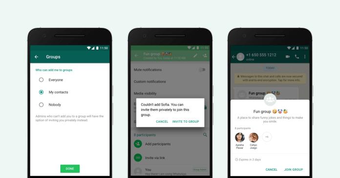 Tolak Masuk Grup WhatsApp Jadi Rencana Fitur Baru