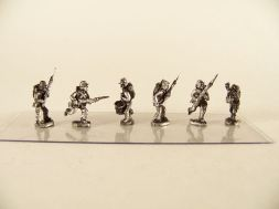 15mm ACW Infantry: ACW2 Kepi with Backpack, Advancing & Charging