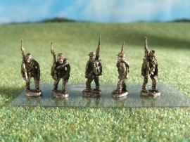15mm ACW Infantry: ACW3 Kepi, Marching, Slope Arms