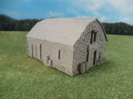 15mm ACW Buildings: TRF304 Large Stone Barn and Granary