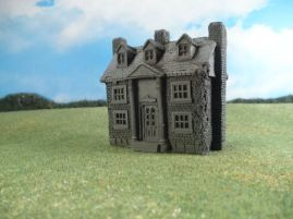 15mm ACW Buildings: TRF305 Southern Mansion, Classic Ante-Bellum
