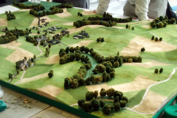 Creating the Battlefield - Planning the terrain - Pic 1