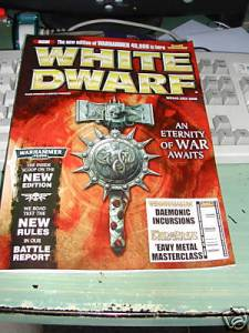 White Dwarf #342 July 2008