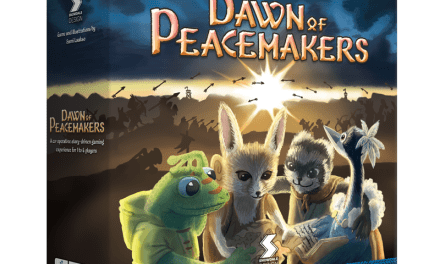 Dawn of Peacemakers juego de mesa Kickstarter