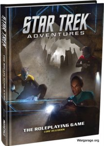 Star Trek Adventures RPG Portada