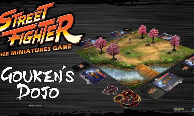 Street Fighter Miniatures Game en Kickstarter (+ filtración y costos)