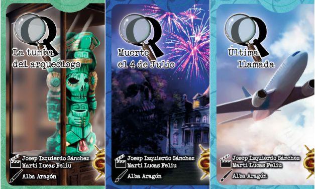 Misterios Q juego de cartas de deducción y resolución de misterios (Reseña)
