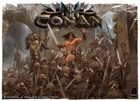 Conan tabletop game by Monolith Board Games