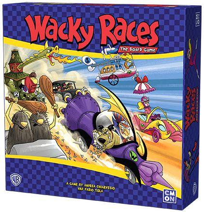 Wacky Races Autos Locos juego de mesa CMON