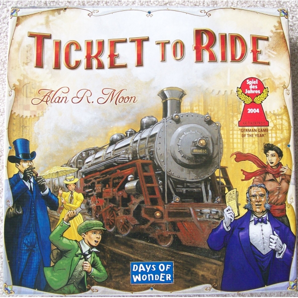 Portada de Aventreros al Tren (Ticket to Ride)