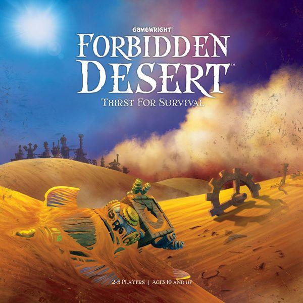 Portada de Desierto Prohibido (Forbidden Desert)