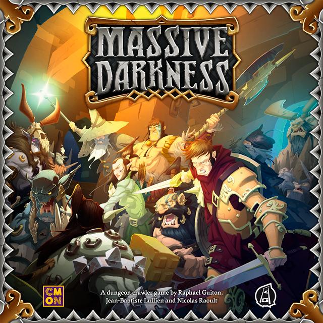 Massive Darkness juego de mesa de CMON