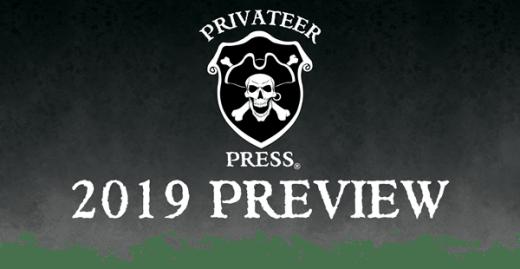 Lanzamientos Privateer Press 2019 (Warmachine/Hordes, Monsterpocalypse y más)