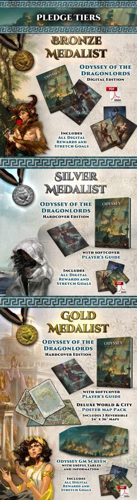 Odyssey of the Dragonlords Kickstarter