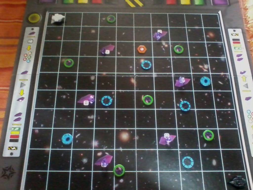 Tablero de Space Cadets Dice Duel