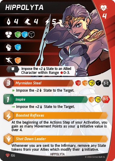 Hippolyta Character card