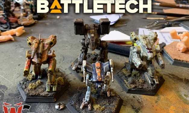 Estoy conociendo Battletech y me encanta