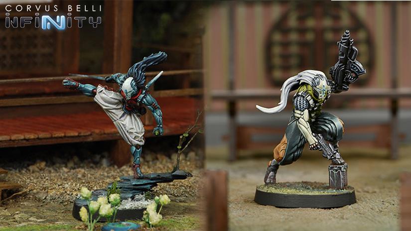 Infinity Saito Togan ninja mercenario