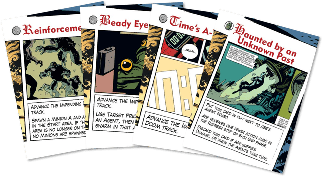Cartas del Deck of Doom